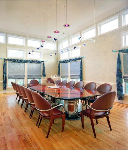 Residential Dining Room Designed by GST Interiors