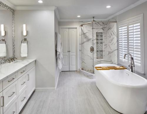 Residential Bath 3 Designed by GST Interiors